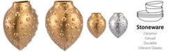 Zuo Mini Puntos Matte Gold-Tone Wall Vase