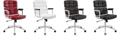 Modway Portray Highback Upholstered Vinyl Office Chair