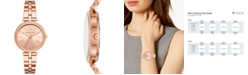 Michael Kors Women's Maci Rose Gold-Tone Stainless Steel Bracelet Watch 34mm, First at Macy's