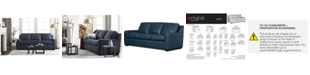 Furniture Lisben II Leather Sofa Collection