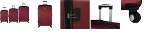 Elite Luggage Paris 3PC Hardside Spinner Luggage Set