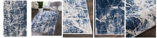 "Kathy Ireland Home KI35 Heritage KI356 Beige/Blue 3'11"" x 5'11"" Area Rug"