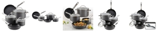 Farberware Hard-Anodized Aluminum Nonstick 10-Pc. Cookware Set