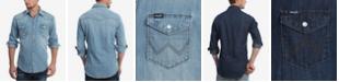Wrangler Men's Authentic Western Long Sleeve Shirt