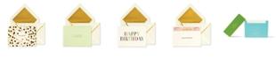 Kate Spade New York Birthday Card Stationery Set, Assorted