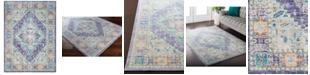 "Surya Germili GER-2321 Bright Purple 3'11"" x 5'7"" Area Rug"