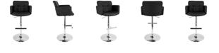 Lumisource Stout Adjustable Barstool