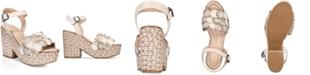 COACH Jae Espadrille Wedge Sandals