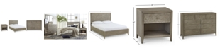 Furniture Parquet Bedroom Furniture, 3-Pc. Set (California King, Nightstand & Dresser), Created for Macy's