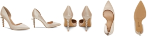 INC International Concepts I.N.C. Women's Keeley Ring-On-Heel Bridal Pumps, Created for Macy's