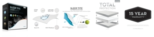 Malouf Sleep Tite 5-Sided Mattress Protector with Omniphase and Tencel - Split California King