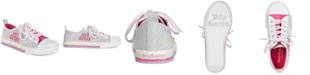 Juicy Couture Little & Big Girls Solano Low-Top Denim Sneakers