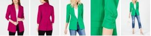 INC International Concepts I.N.C. 3/4-Sleeve Blazer, Created for Macy's