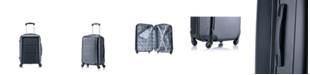 "InUSA Pilot 20"" Lightweight Hardside Spinner Carry-on Luggage"