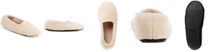 Isotoner Signature Women's Chevron Closed-Back Slippers