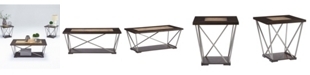 Progressive Furniture South Bay 3 Pack Cocktail and 2 Ends