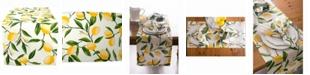 """Design Imports Lemon Bliss Print Table Runner 14"""" X 108"""""""