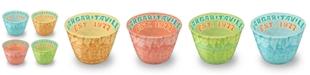 TarHong Assorted Batik Dip Bowls, Set of 4