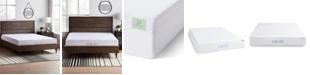 """Lucid 10"""" Dual-Layered Gel Memory Foam Mattress, Cal King"""
