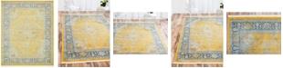 """Bridgeport Home Kenna Ken1 Yellow 8' 4"""" x 10' Area Rug"""