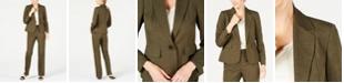 Le Suit One-Button Pant Suit