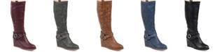 Journee Collection Women's Comfort Extra Wide Calf Garin Boot
