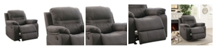 Benzara Leatherette Rocker Recliner