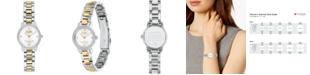 COACH Women's Audrey Two-Tone Stainless Steel Bracelet Watch 22mm