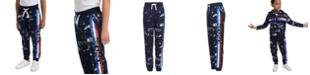 Tommy Hilfiger Little Boys Courtney Splatter-Print Fleece Sweatpants