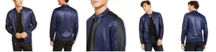 INC International Concepts INC Men's Quilted Knit Vacation Jacket, Created for Macy's