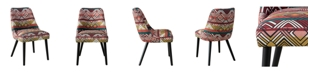 Skyline Halsted Rounded Back Dining Chair
