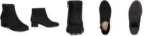 INC International Concepts INC Little Girls Floriann Block-Heel Booties, Created for Macy's