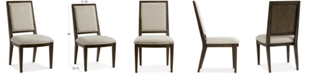 Furniture Monterey Upholstered Back Side Chair, Created for Macy's