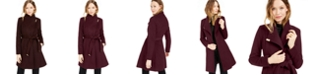 Michael Kors Asymmetrical Belted Coat, Created for Macy's