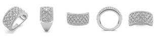 Charles & Colvard Moissanite Fashion Band 3-3/4 ct. t.w. Diamond Equivalent in 14k White Gold