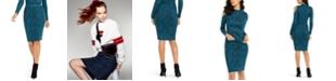 Thalia Sodi Jacquard Sweater Skirt, Created For Macy's