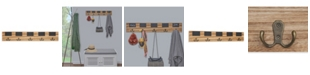 Danya B 5 Hook Coat Rack