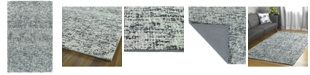 "Kaleen Lucero LCO01-38 Charcoal 5' x 7'6"" Area Rug"