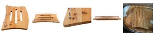 ALFI brand Wooden Over The Tub Portable Caddy Tray Bathroom Accessory