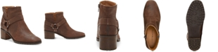 Lucky Brand Women's Jansic Leather Booties