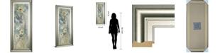 "Classy Art Garden Haiku II by Douglas Framed Print Wall Art, 18"" x 42"""