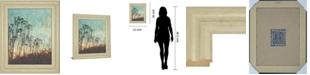 """Classy Art Wild Grass by Amy Melious Framed Print Wall Art, 22"""" x 26"""""""