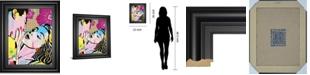 """Classy Art Midnight Kiss by Tom Frazier Framed Print Wall Art, 22"""" x 26"""""""