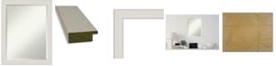 "Amanti Art Rustic Plank Framed Bathroom Vanity Wall Mirror, 21.38"" x 27.38"""