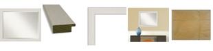 "Amanti Art Rustic Plank Framed Bathroom Vanity Wall Mirror, 31.38"" x 25.38"""