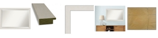 "Amanti Art Rustic Plank Framed Bathroom Vanity Wall Mirror, 39.38"" x 27.38"""