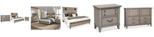 Furniture Sausalito Bedroom Furniture, 3-Pc. Set (King Bed, Nightstand & Dresser)