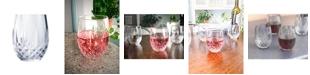 Longchamp Cristal D'Arques 10oz Stemless Wine Glass, Set of 4