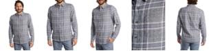 PX Men's Brushed Flannel Plaid Shirt