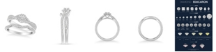 Macy's Diamond Twist Bridal Set (5/8 ct. t.w.) in 14k White, Yellow or Rose Gold